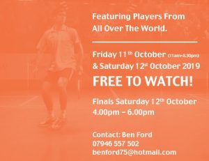 Charing Cross Classic PSA Squash Tournament
